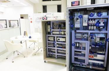 Control panel showroom