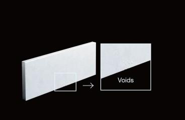 一般的に流通する従来のADC12には鋳巣が存在する